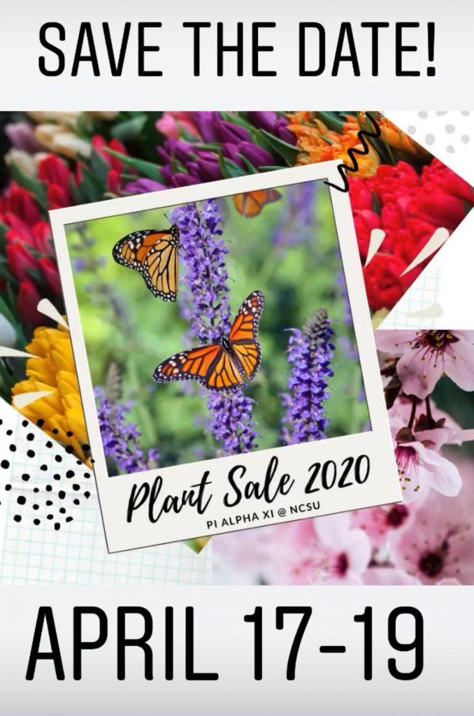 spring 2020 plant sale